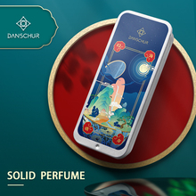 1PC Portable Case Solid Perfume Fragrances Women Men Solid Balm Soft Long Lasting Aroma Deodorant Fragrance Body Antiperspirant