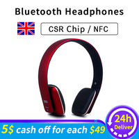 Ep636 bluetooth fones de ouvido sem fio com microfone/nfc confortável na orelha de alta fidelidade fone de ouvido bluetooth para pc  smartphone fone de ouvido
