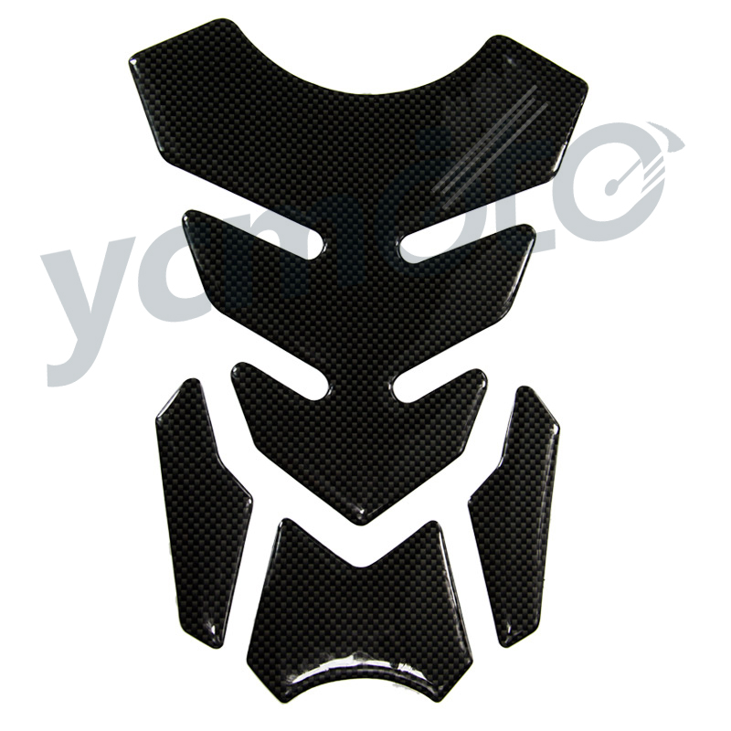 10# 3D Soulkeeper Motorcycle Gel Oil Gas Fuel Tank Pad Protector Sticker Decal