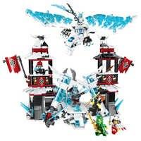 NEW 2019 NINJA Series Castle of the Forsaken Emperor Building Blocks Bricks Model Kids City Classic Toys Compatible Marvel Movie