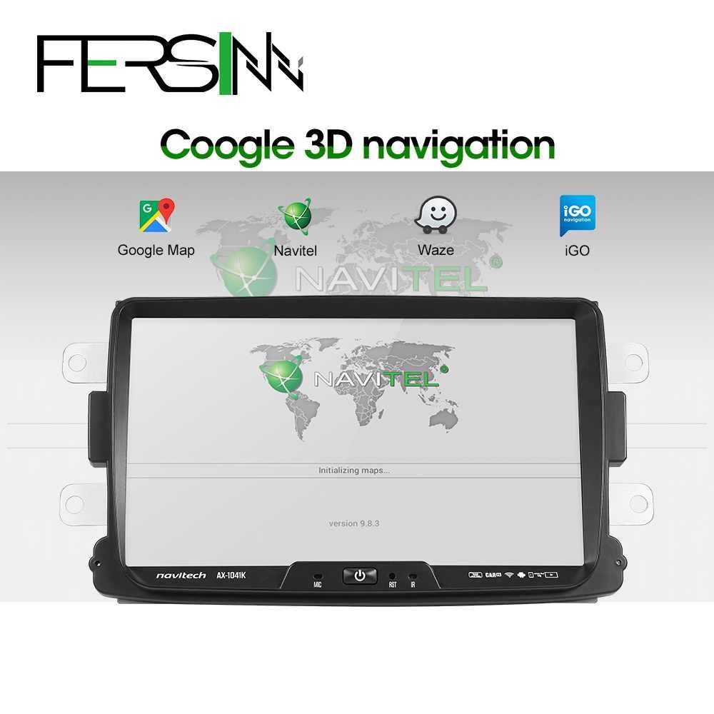 Fersinny CDXY8071 PX30 אנדרואיד dvd לרכב עבור רנו הדאסטר Dacia Sandero Captur לאדה Xray 2 לוגן 2 gps ניווט gps נגן