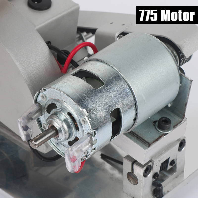 Tools : Dutoofree DIY Drill Micro Cutting Machine Small Aluminum Alloy Table Electric Saw Cutting Aluminum Machine Stainless Steel