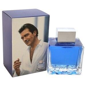 Antonio Banderas Perfume for Men Long Lasting Perfumes Blue Seduction Flowers Fruits Flavor Fragrance- 3.4 oz EDT Spray