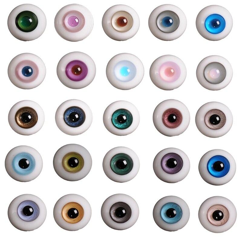 14 мм, Bjd 1/3 1/4, кукольные стеклянные глаза, аксессуары для кукол, очки для кукол Куклы      АлиЭкспресс