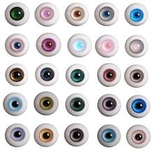 14 мм, Bjd 1/3 1/4, кукольные стеклянные глаза, аксессуары для кукол, очки для кукол