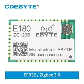 E180-ZG120B CDEBYTE Zigbee 3.0 EFR32 2.4GHz 20dBm ZIGBEE wireless module 1.3km range ZHA ZLL Wireless transmitter receiver