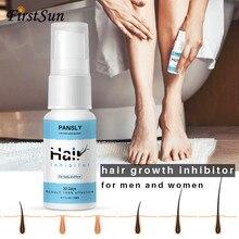 Органический травяной Перманентный ингибитор роста волос восстанавливающий питающий Гладкий спрей для удаления волос на теле для личных частей ног Волосы на лице