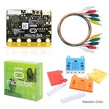 Oficial bbc micro: bit projeto starter kit incluem micro: placa de bits e microbit placa caso com jacaré clipes