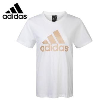 Original New Arrival  Adidas MH SHINY BOS T Women's  T-shirts short sleeve Sportswear 1