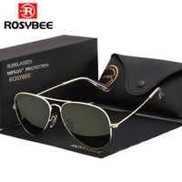 Gafas de sol G15 de alta calidad para hombre y mujer, gafas de sol uv400 estilo aviador, gafas de sol clásicas para hombre