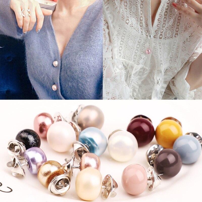 Модные жемчужные броши, булавки для женщин, дизайнерские женские аксессуары для одежды, открытые ювелирные изделия, цветные жемчужные була...