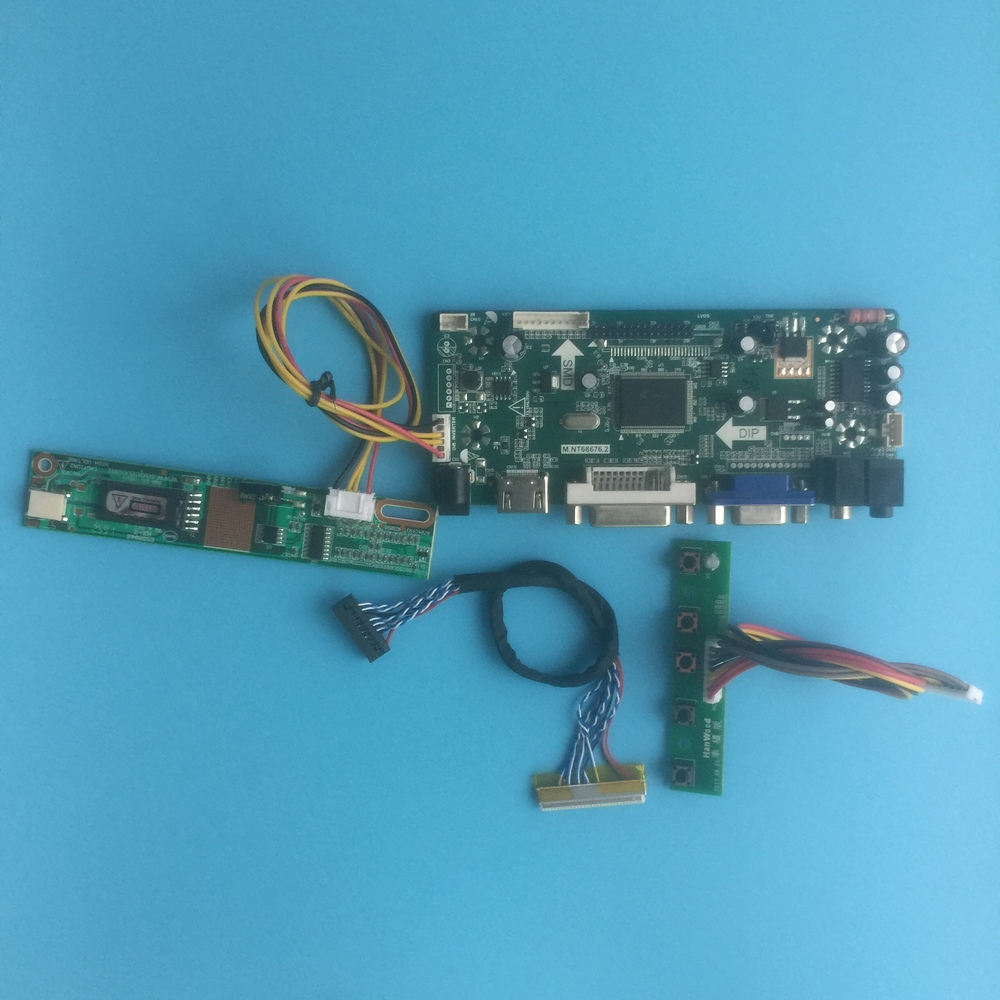Kit For LP154WE2-TLB2 Controller Board HDMI DVI 30pin Panel Monitor Driver Screen Signal VGA 1 Lamps LVDS 1680X1050 15.4
