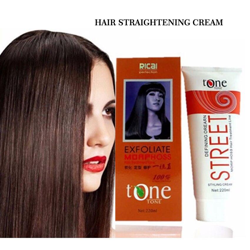 Natural Hair Relaxer Cream Fast Hair Straightening Keratin Treatment Salons Hair Moisturizing Shiny Hair Damage Repair Smoothing
