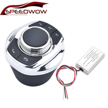 Новинка, автомобильная Беспроводная кнопка управления рулевым колесом SPEEDWOW со светодиодной подсветкой, 8 клавиш, для автомобиля, Android навигатор