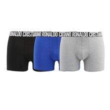 Cristiano ronaldo cr7 boxer shorts masculinos roupa interior de algodão boxers sexy cuecas masculinas marca pull in calcinha masculina