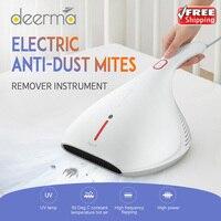 2020 Оригинал Deerma 13000Pa пылесос ручной Анти-пыль HEPA пылесос УФ клещей для кровати матрас Подушка Диван