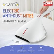 2020 מקורי Deerma 13000Pa שואב אבק כף יד נגד אבק HEPA שואב אבק UV קרדית להרוג עבור מיטת מזרן כרית ספה