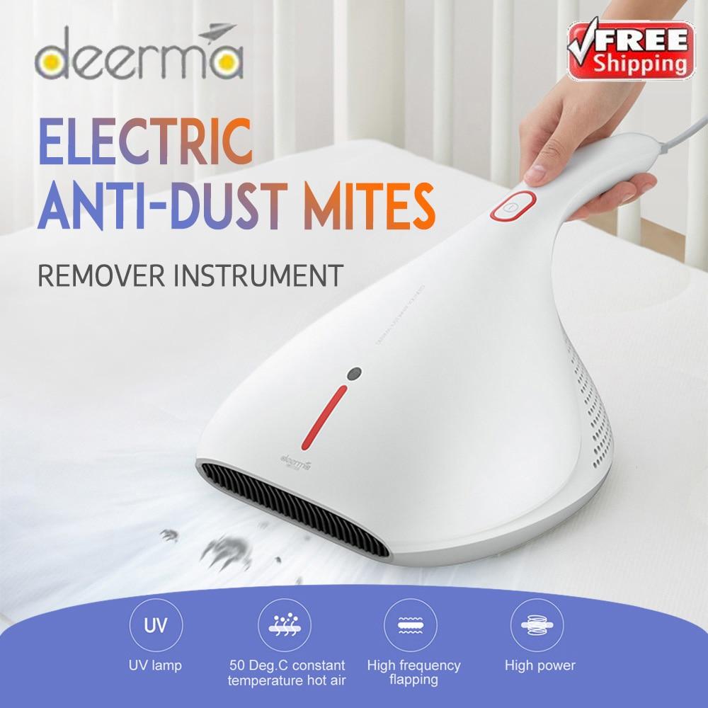 2020 Original Deerma 13000Pa Vacuum Cleaner Hand-Held Anti-Dust HEPA Vacuum Cleaner UV Mites Kill For Bed Mattress Pillow Sofa