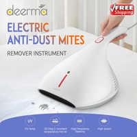 2020 oryginalny Deerma 13000Pa odkurzacz ręczny odkurzacz HEPA odkurzacz UV zabij na materac na łóżko poduszka Sofa