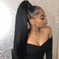 HD Transparent Full Lace Human Hair Wigs For Women Brazilian Straight Glueless Full Lace Wigs Pre Plucked with Baby Hair Remy