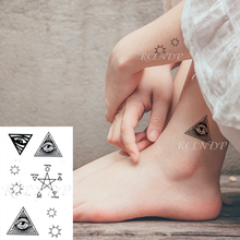 Temporary-Tattoo-Sticker Flash-Tatoo Fake Tatto Waterproof Kids Women for Totem-Element