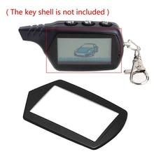 цена на 1pc LCD Keychain Case Glass Cover For Starline B9 A91 B6 A61 B61 B91 V7 2-way Car Anti-Theft Remote Control Key Chain