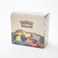Sword Shield Pokemon Cards GX EX VMAX Box English Collectible Game Cards feyenoord Battle Carte Trading Shining Game Child gift