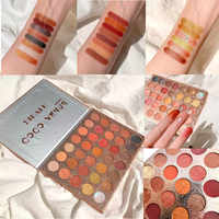 1Pc 35 Colors Make Up Shimmer Matte Pearlescent Glitter Shine Eyeshadow Palette Pigment Eye Shadow Makeup Palette Cosmetic TSLM2