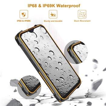 Cubot KingKong 5 Pro IP68/IP69K Waterproof Smartphone Rugged Phone 8000mAh 48MP Triple Camera Android 11 NFC 64GB Global 4G LTE 2