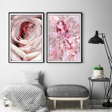 Modern Rose Home Decor Wall Art Print Painting Pictures Bathroom Decoration Paintings