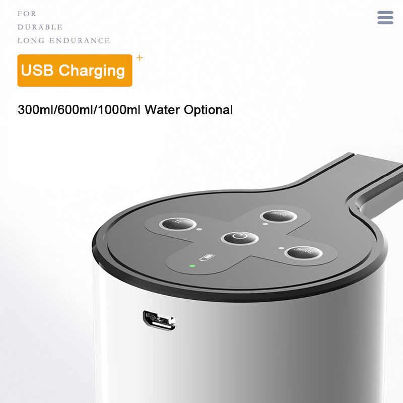 جديد التلقائي الكهربائية موزع مياه مضخة للمنزل مكتب في الهواء الطلق الذكية زجاجة مياه الشرب مضخة 1500mAh USB الشحن