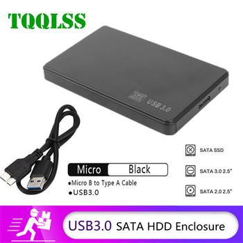 2.5 inch HDD SSD Case USB3.0 to SATA Hard Disk Box 5Gbps SD Disk Case HDD External Hard Drive Enclosure for Notebook Desktop PC 1