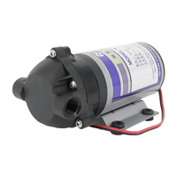75 400 gpd 24v water booster diaphragm pump natural Pressure Vacuum water filter parts for residential reverse osmosis system