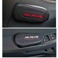 Автомобильный Стайлинг для Suzuki Sx4 1 шт.  карбоновая Кожаная подушка для ног  наколенник  подлокотник  Накладка для интерьера  автомобильные а...
