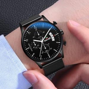 Image 5 - SWISH 2020 Top Brand Luxury Men Watches Waterproof Stainless Steel Wristwatch Mens Chronograph Casual Quartz Watch
