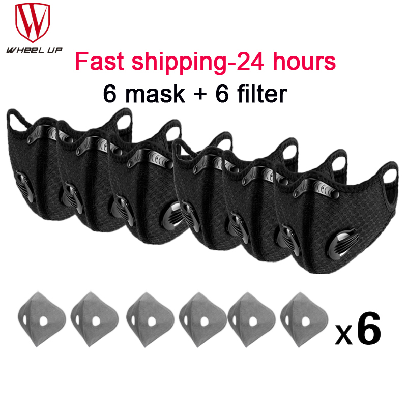 Cycling Face Mask Breathable Sports Mask Breathing Valve Bike Mask Spain Bicycle Facemask with filter Running Mask With Valve