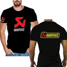 New Arrival Cotton Ninja Motorcycle for MOTO Shirt Men Short Sleeve Shirt for Suzuki akrapovic t-shirt