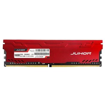 JUHOR Memoria DDR4 16gb Desktop Memory with Heat Udimm 2133mhz 2400mhz 2666mhz 3000mhz PC RAM 1.2V New Dimm Rams фото