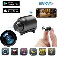 Evkvo Mini Camera Draadloze Wifi 1080P Surveillance Security Nachtzicht Bewegingsdetectie Camcorder Babyfoon Ip Camera