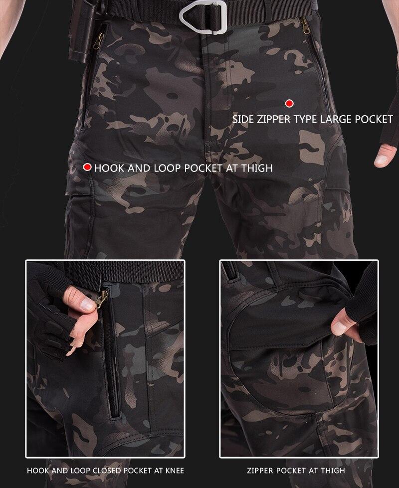 vento camo caca terno pele tubarao militar caminhadas jaqueta calcas 04