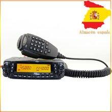 Repetidor de visor duplo tyt TH-9800 50w, rádio bidirecional vhf uhf para caminhão e veículo