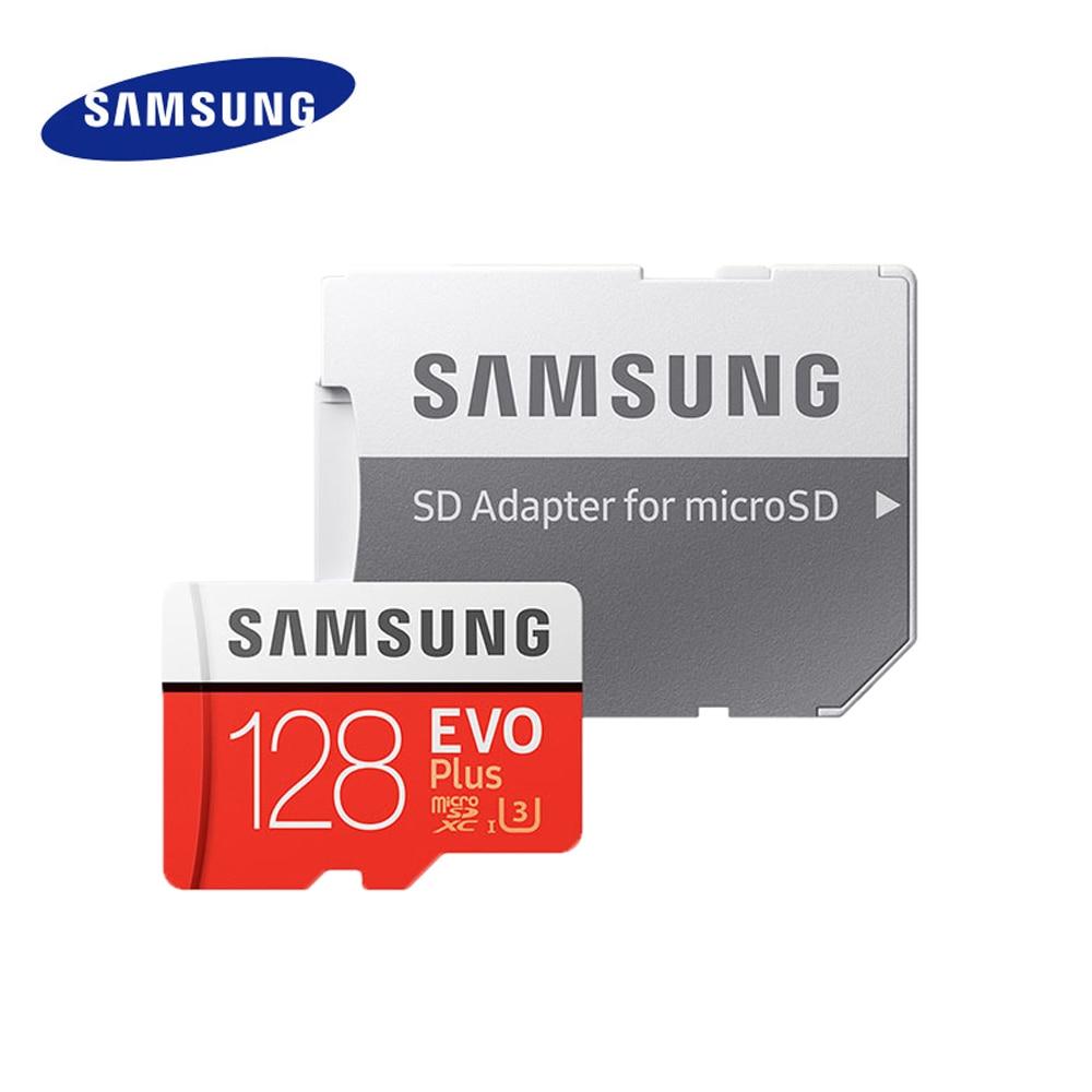 Карта памяти microSD SAMSUNG EVO + Micro SD объемом до 32 GB карты памяти SDHC класса 10 UHS-I TF/SD слот для карт памяти 8 Гб 64 Гб 128 ГБ 256 ГБ 512 ГБ TF Карта cartao de memoria
