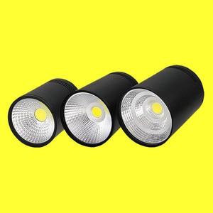 Image 4 - סופר בהיר בהירות גבוהה LED COB תקרת ספוט מנורת 9W 12W 15W משטח הר Downlight מקורה תאורת מטבח חדר שינה