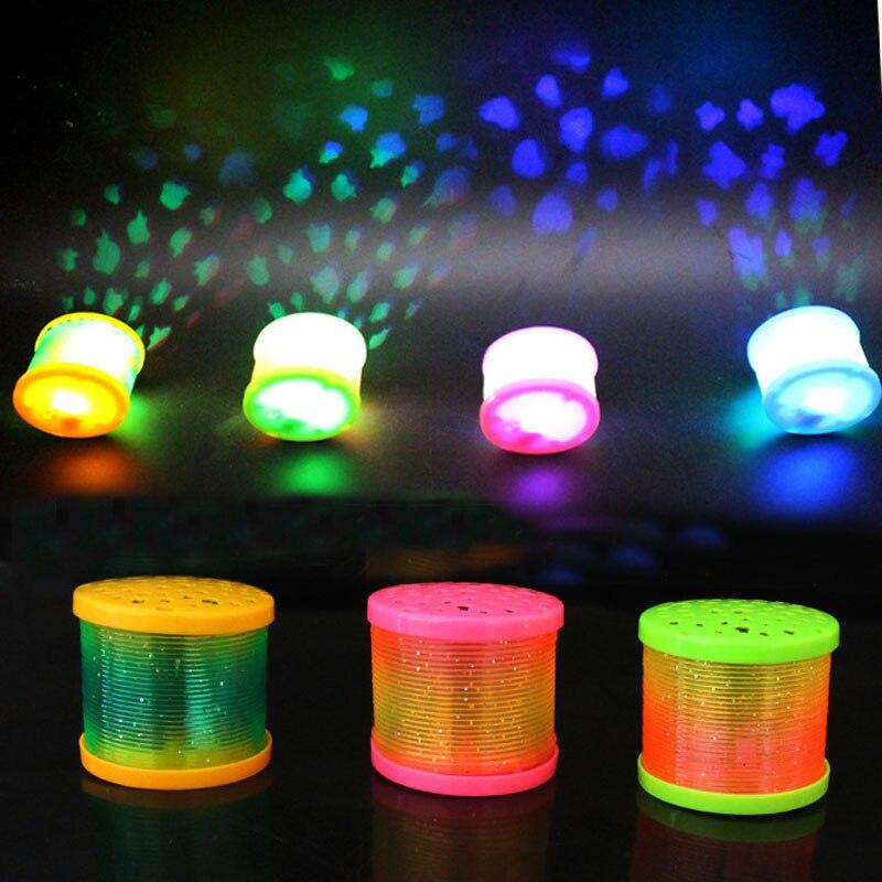 Led Lighting Up Nascentes de Água Brinquedos Para Crianças As Crianças Piscando Brilhando No Escuro Luminous Haloween Natal Decorações do Ano Novo