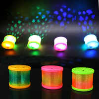 Led Lighting Up Springs Toys For Kids Children Flashing Glowing In The Dark Luminous Haloween Christmas New Year Decorations