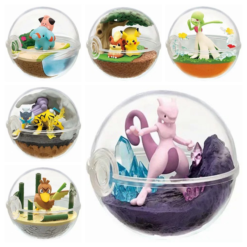 Pokemon Figure Pokemon Capsule Model Toys Collections Action Figure Anime Toys For Children Pocket Monster