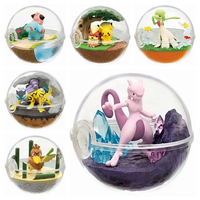 Pokemon Figure Pokemon Capsule Model Toys Collections Action Figure Anime Toys For Children Pocket Monster