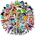 50 шт. супер аниме мультфильм Saiyan Goku Наклейки Скейтборд гитара Чемодан мотоцикл граффити DIY детские наклейки игрушки