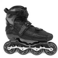 2019 fangen Carbon Faser Berufs Slalom Inline Skates Erwachsene Roller Kostenloser Skating Schuhe Schiebe Patines Ähnliche Mit SEBA IGOR