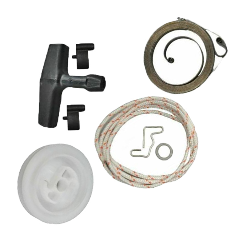 Recoil Rewind Starter Pulley Handle Starter Rope Pawl for Stihl 029 MS290 MS390
